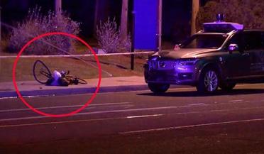 优步自动驾驶汽车撞倒一女子