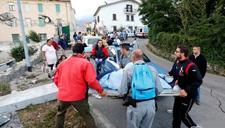 意大利6.1级地震 困境重重救援人员与时间赛跑