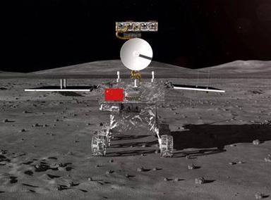 嫦娥四号月球探测器公布外观设计构型