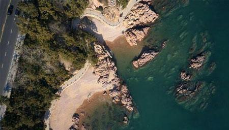 青岛别墅破坏海岸线被拆除