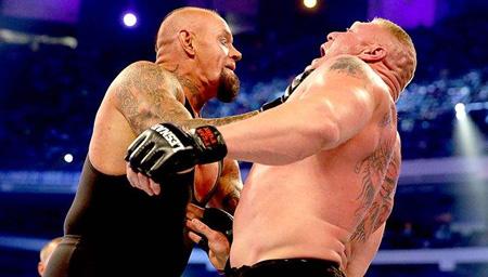 WWE超级巨星的坟墓!盘点送葬者15大锁喉抛摔!
