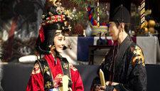 蔡琳高梓淇举办韩国传统婚礼 华服仪仗如韩剧