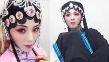 刘涛京剧妆妩媚动人 眼神迷离惹人怜