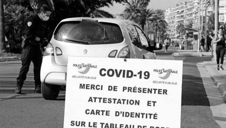 法国开出近36万张罚单