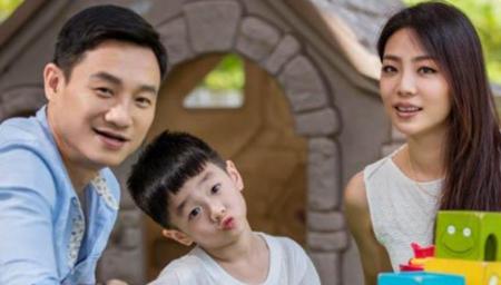 杨威杨云二胎双胞胎降生杨阳洋升级当哥哥