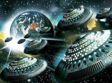 外星人究竟有多强大?能操纵小行星撞火星!