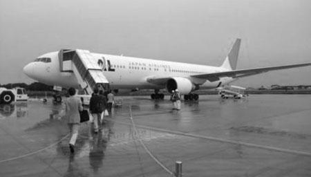 日本:机场人流大幅减少