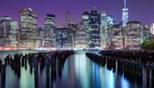 摄影师捕捉全球绝美城市夜景 光绘不夜城