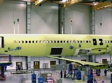 两分钟看懂国产C919客机是如何组装的