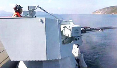 震撼!直击海防旅实弹射击