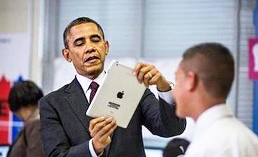 奥巴马公开吐槽白宫WiFi烂