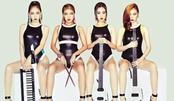 Wonder Girls 复古泳衣艳丽妆