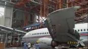 现场!台风莫兰蒂又闯祸 厦门太古飞机机翼被砸断