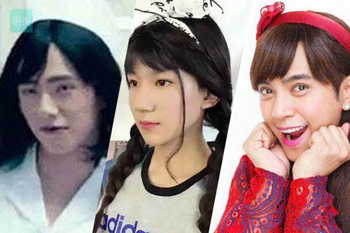 刘昊然骚气、易烊千玺软萌,男明星女装原来这么美?