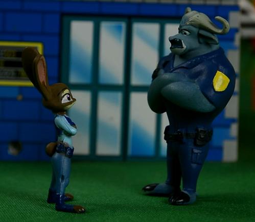 严肃的牛局长,疯狂动物城,安迪尼克,阿紫玩具