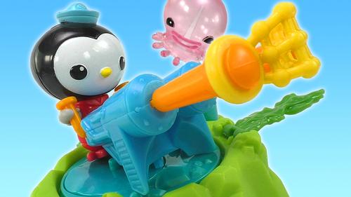 海底小纵队皮医生解救大水母玩具