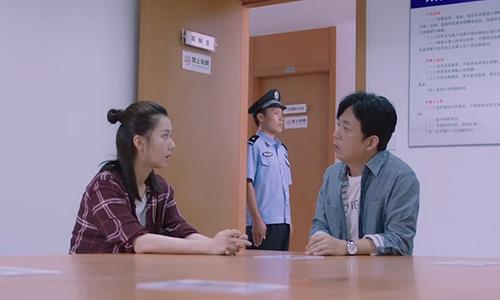《逆流而上的你》第6集精彩看点:杨光查看现场被捉蹲警局