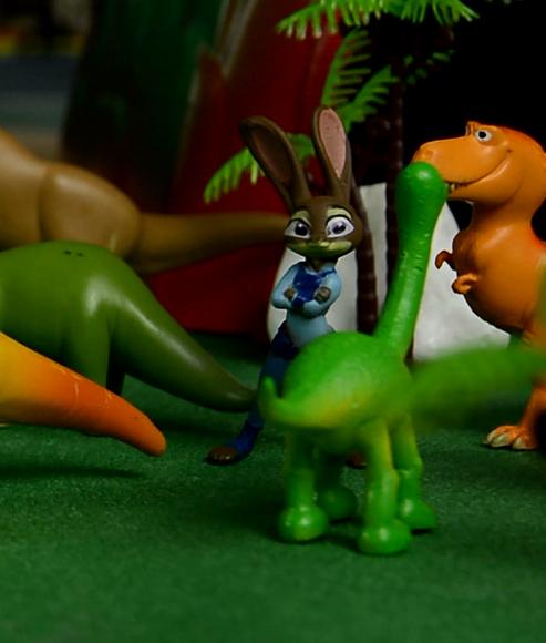 勇敢的朱迪,疯狂动物城,安迪尼克,阿紫玩具