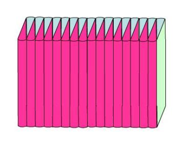 拼成的长方体与原来的圆柱有什么关系图片