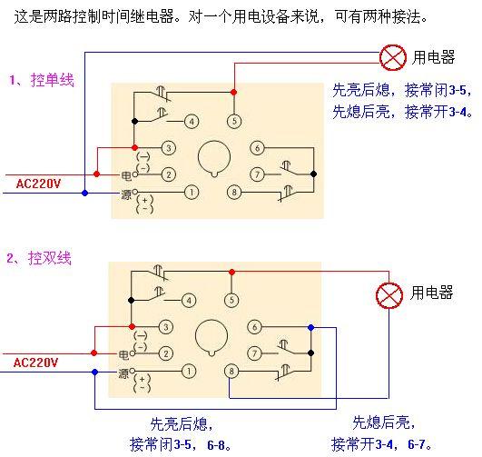 2 2010-05-17 求js14p时间继电器外接感应器和电磁阀的接线方法 4图片