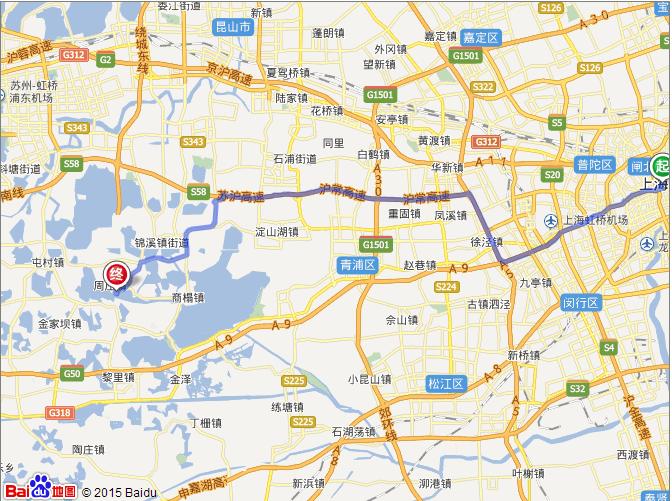 上海出发自驾旅游线路