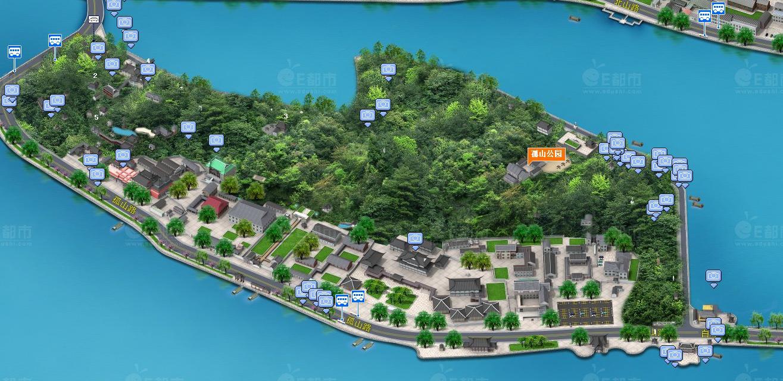 百度地图3d全景 - 广州3d地图高清街景 - 谷歌3d高清
