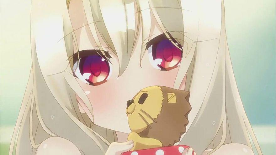 Wallpaper Anime Sweet Girl Cat
