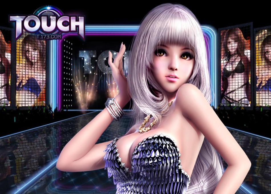 谁有touch炫舞这个女孩高清无水印的图片