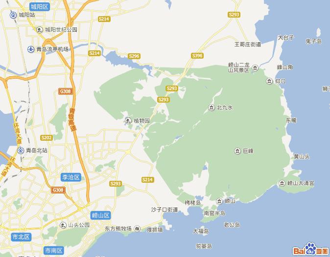 青岛崂山位置