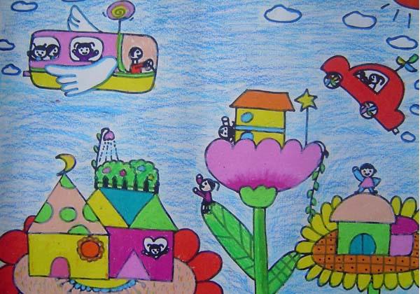儿童画 600_420图片