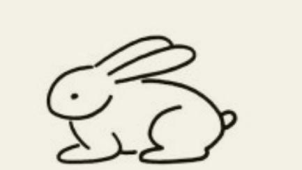 兔子卡通图片简笔画