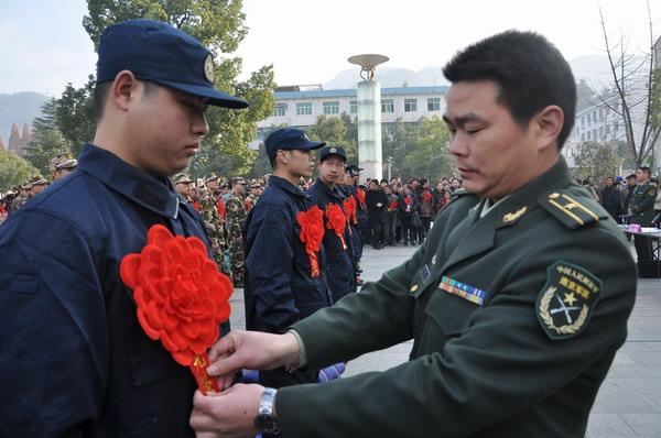 07式陆军军官冬装有几种穿法和款式图片