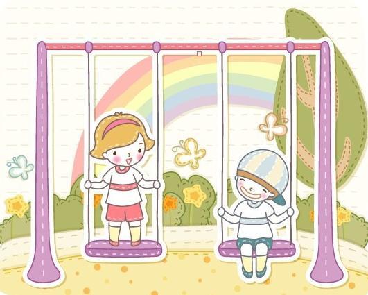 美好童年儿童画,画什么好图片