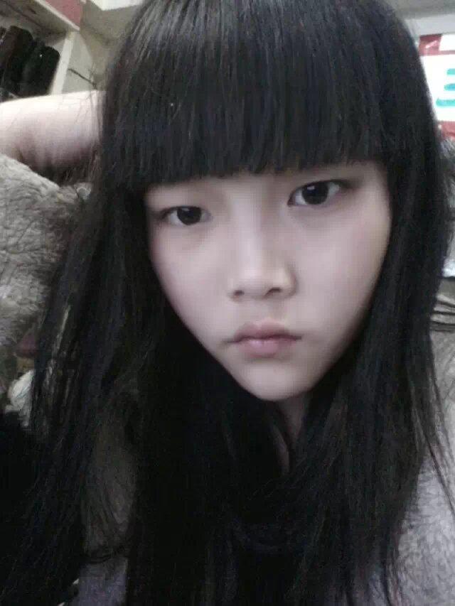 空气刘海适合大脸型分享展示图片