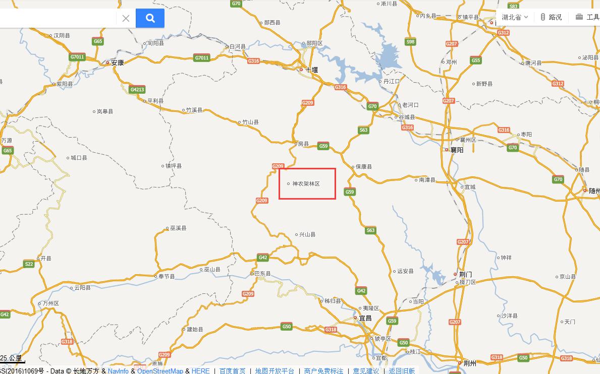 神农架是哪个市