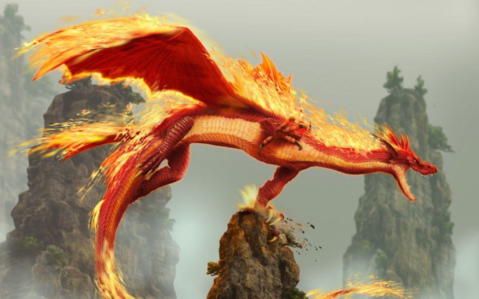 maya 我想要一些 火龙的图片 外国的那种龙 最好是大量的 请问哪能