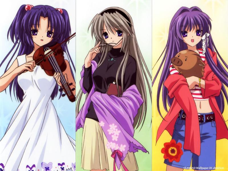 日本动漫里的女生穿的中长裙子都叫什么名字?