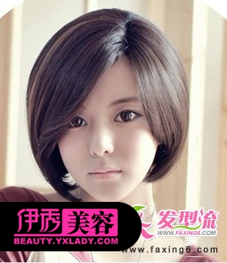 初中女生短发型图片 女生发型