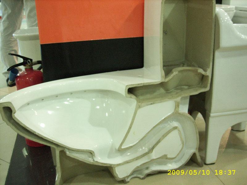 马桶结构图 直冲式马桶结构图 马桶冲水阀结构图 墙排马桶