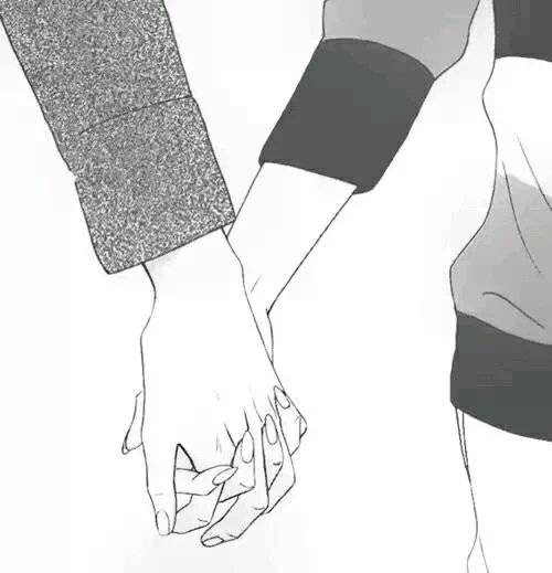 情侣手牵手背影图片