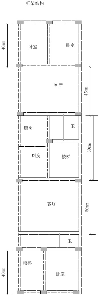 恳请长25米宽6米房屋设计图图片