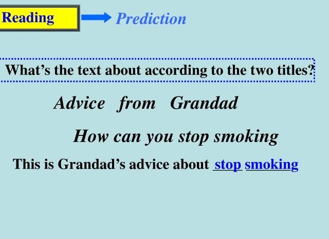 求英语必修六how can you stop smoking 的原文谢谢