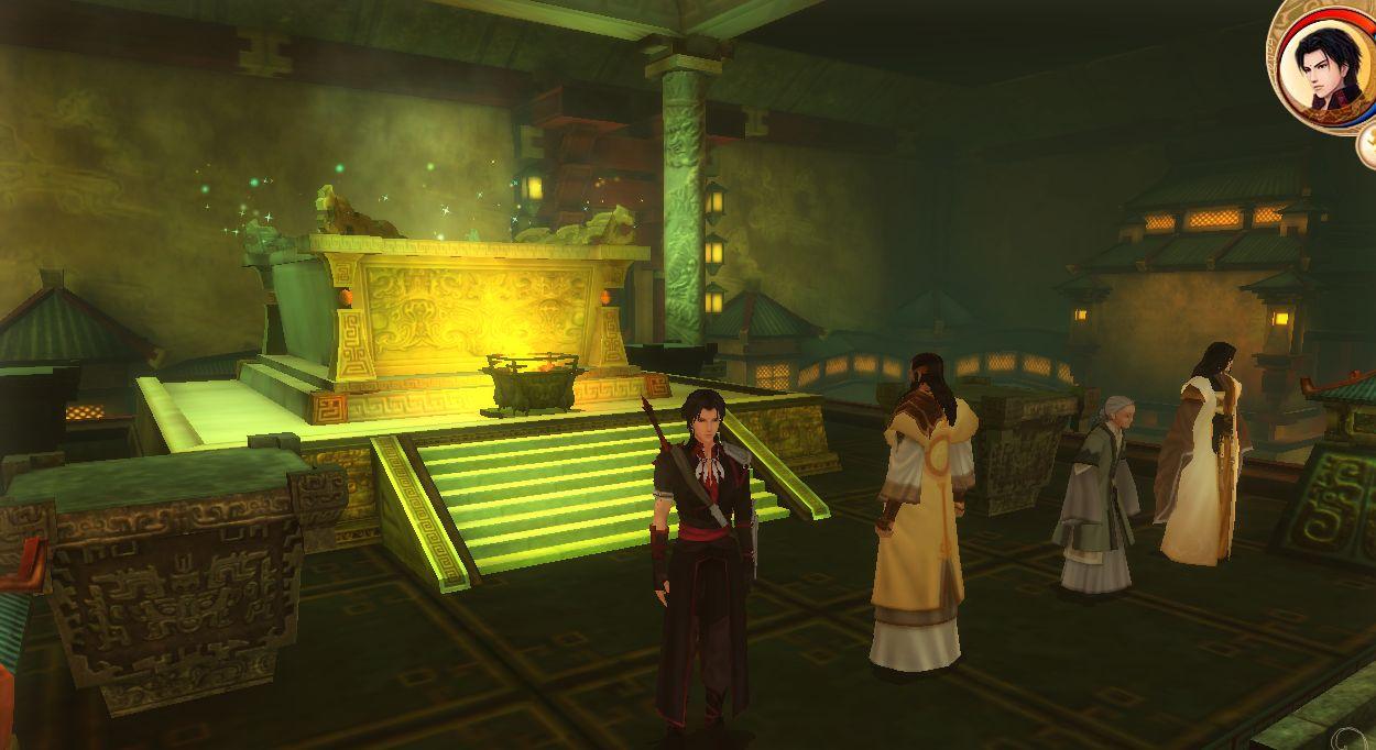古剑奇谭1 打完雷严,我会带秦始皇陵回不去了图片