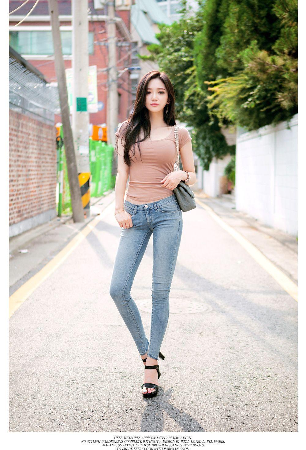 韩国经典女装chuu模特