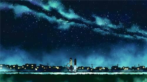 动漫唯美的图片儿.当qq空间背景.声明一下我图片