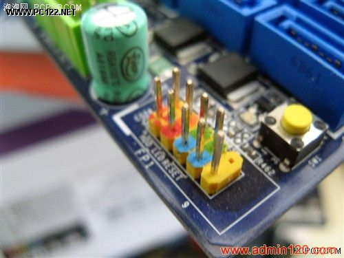 9针面板连接跳线示意图 图解主板跳线接法的所有秘密图片