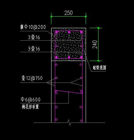 这个钢筋配筋图怎么看,箱式变电站基础图,希望详解,谢谢大家图片