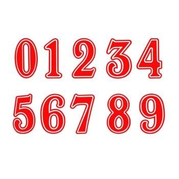 谁有篮球服号码字体,如图图片