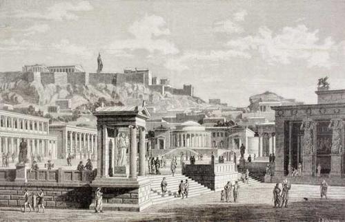 首先,古代雅典城邦,古希腊,希腊(现代希腊共和国)不是一个概念.图片