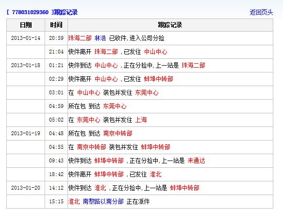 zto.cn/billselect.aspx,上面是中通物流的官网地址,输入单号即可.图片